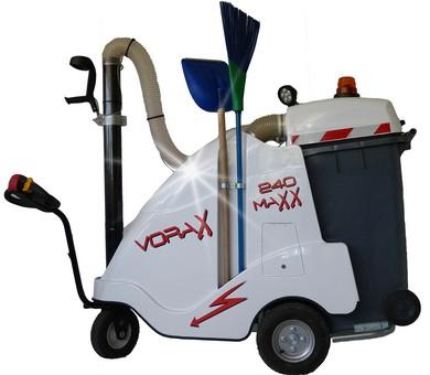 aspirateur de déchets urbains et industriels VORAX 180MAXX