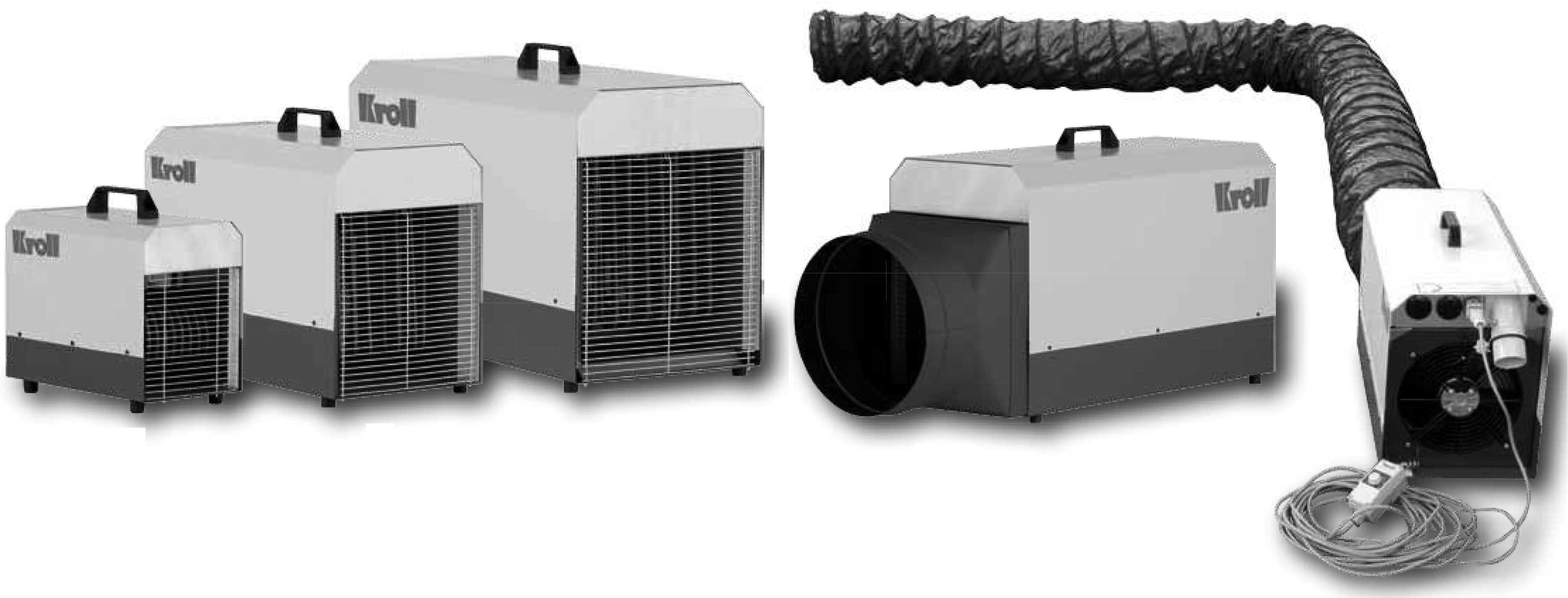 chauffage électrique KROLL série E