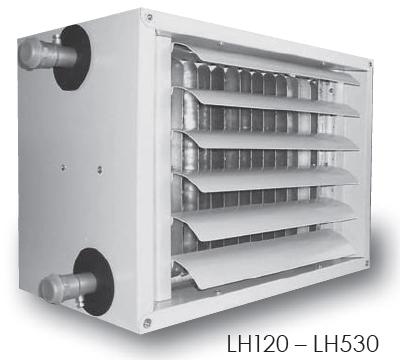aérotherme à eau KROLL LH120 LH530