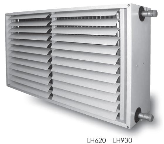 aérotherme à eau KROLL LH620 LH930