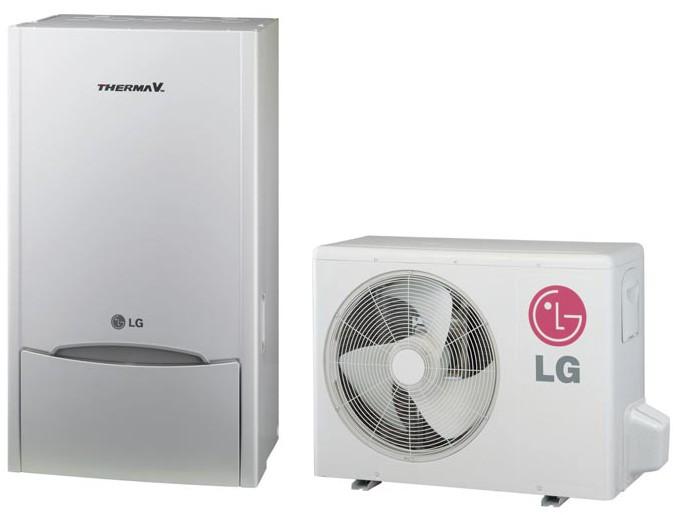 pompe à chaleur air-eau LG Therma V