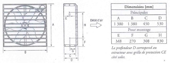 GIORDANO EM50n dimensions