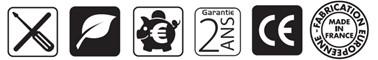 pictogrammes BRC1800
