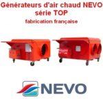 Générateurs d'air chaud NEVO série TOP